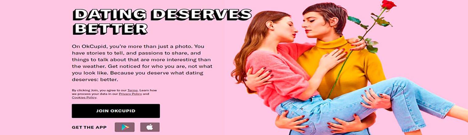 OkCupid è un alleato incondizionato per gli incontri gay