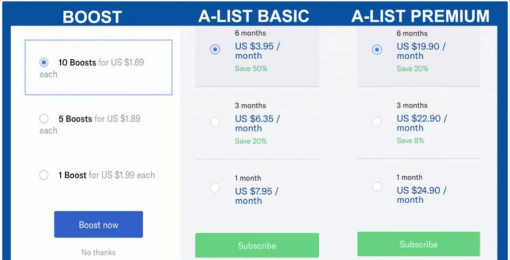 OkCupid è costoso o economico?